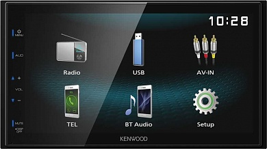 Автомагнитола Kenwood DMX120BT 2DIN 4x50Вт