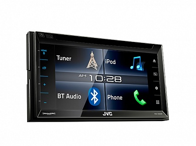 Автомагнитола CD DVD JVC KW-V320BT 2DIN 4x50Вт